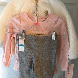 Child girl 2T /3 pieces Juicy Couture outfit